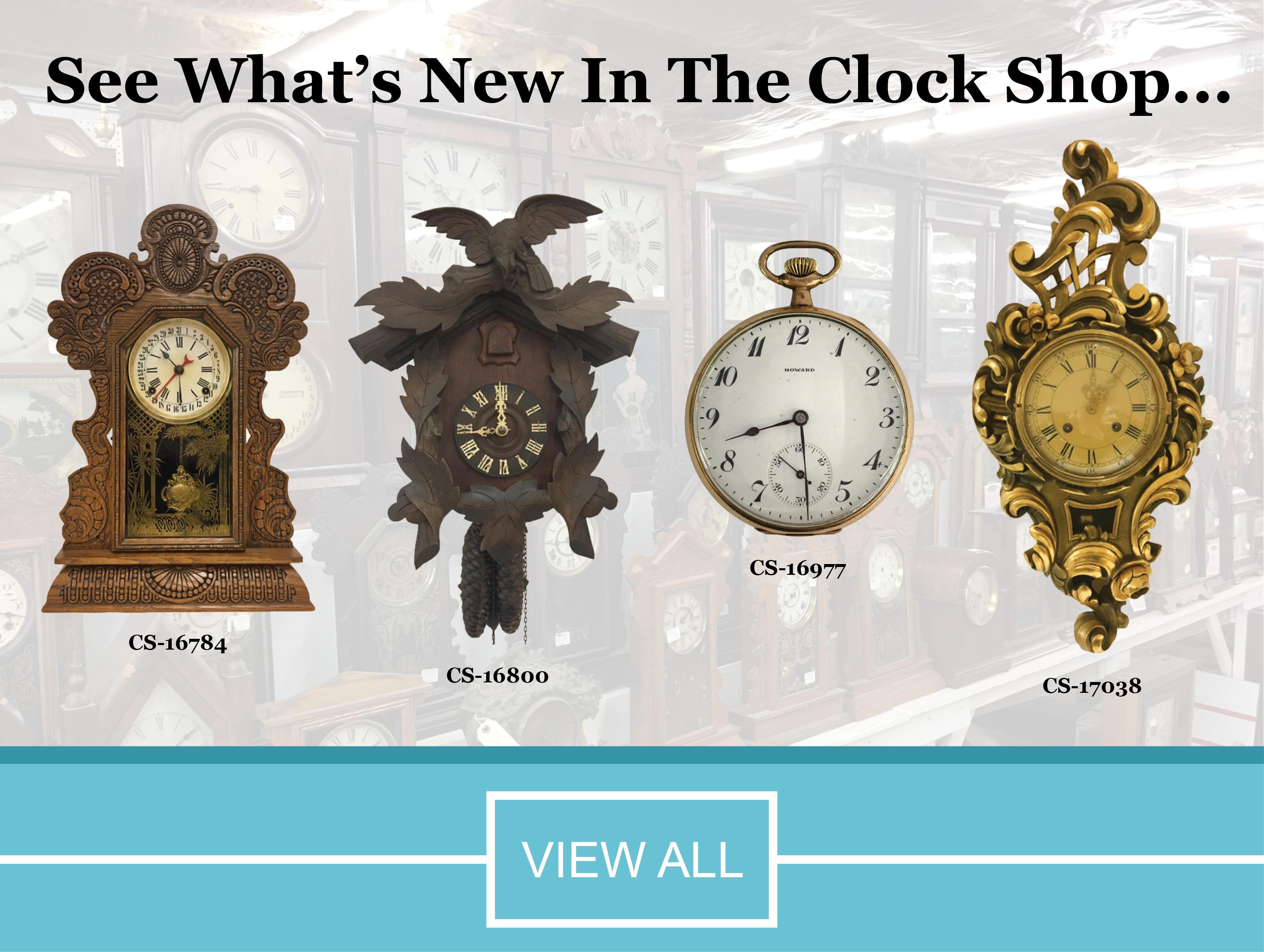 Home Merritts Clocks Repair Supplies