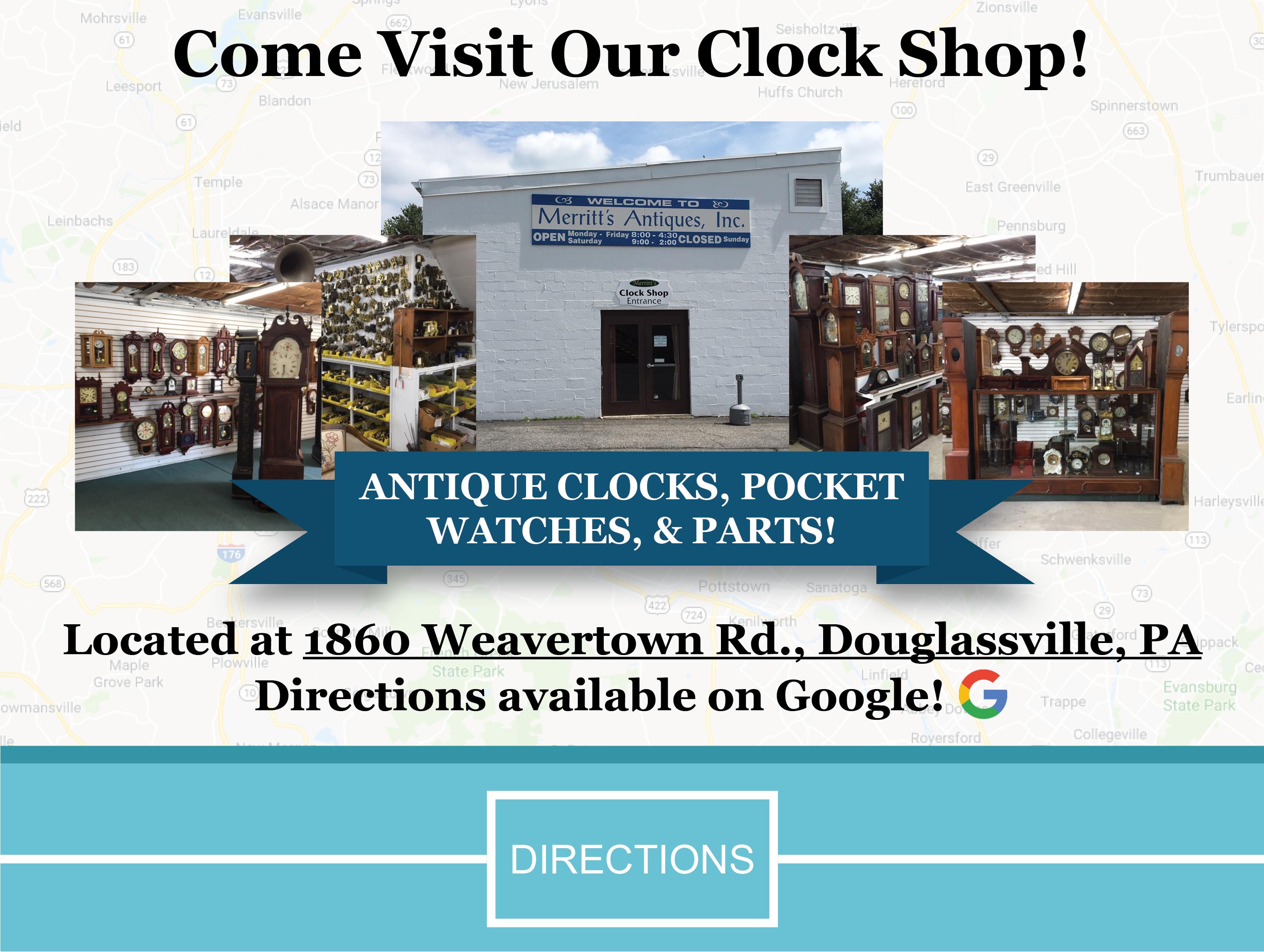 Home | Merritt's Clocks & Repair Supplies